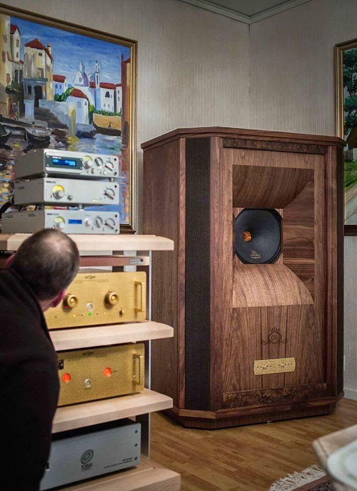 Tannoy Westminster GR speakers + Dartzeel pre-power + Nagra