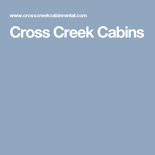 Cross Creek Cabins