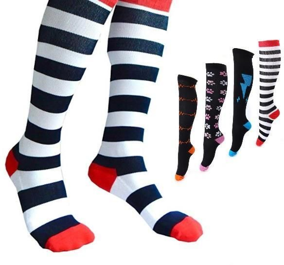 outlet online new high best deals on Fun & Stylish Women's Compression Socks - 20-30 mmHg ...