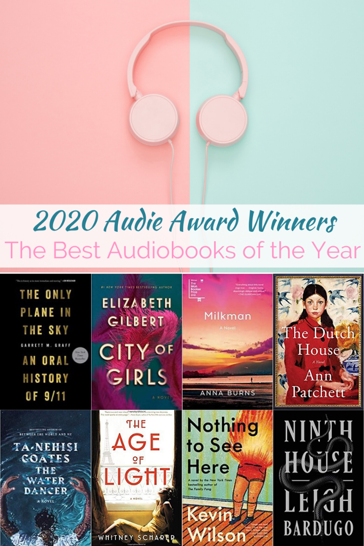 2020 Audie Award Winners The Best Audiobooks Of The Year In 2020 Best Audiobooks Book Blogger Audiobooks