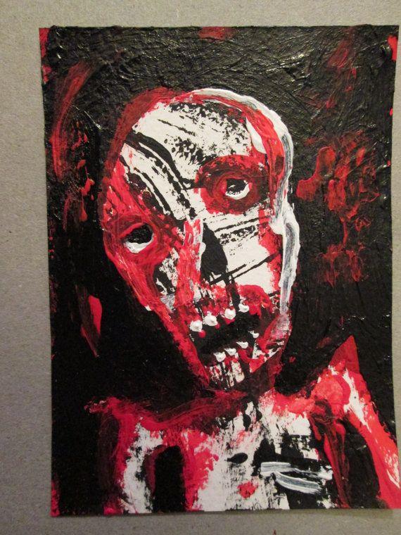 PostPostmortem no 371  original art card by jack by PostPostMortem, $3.00