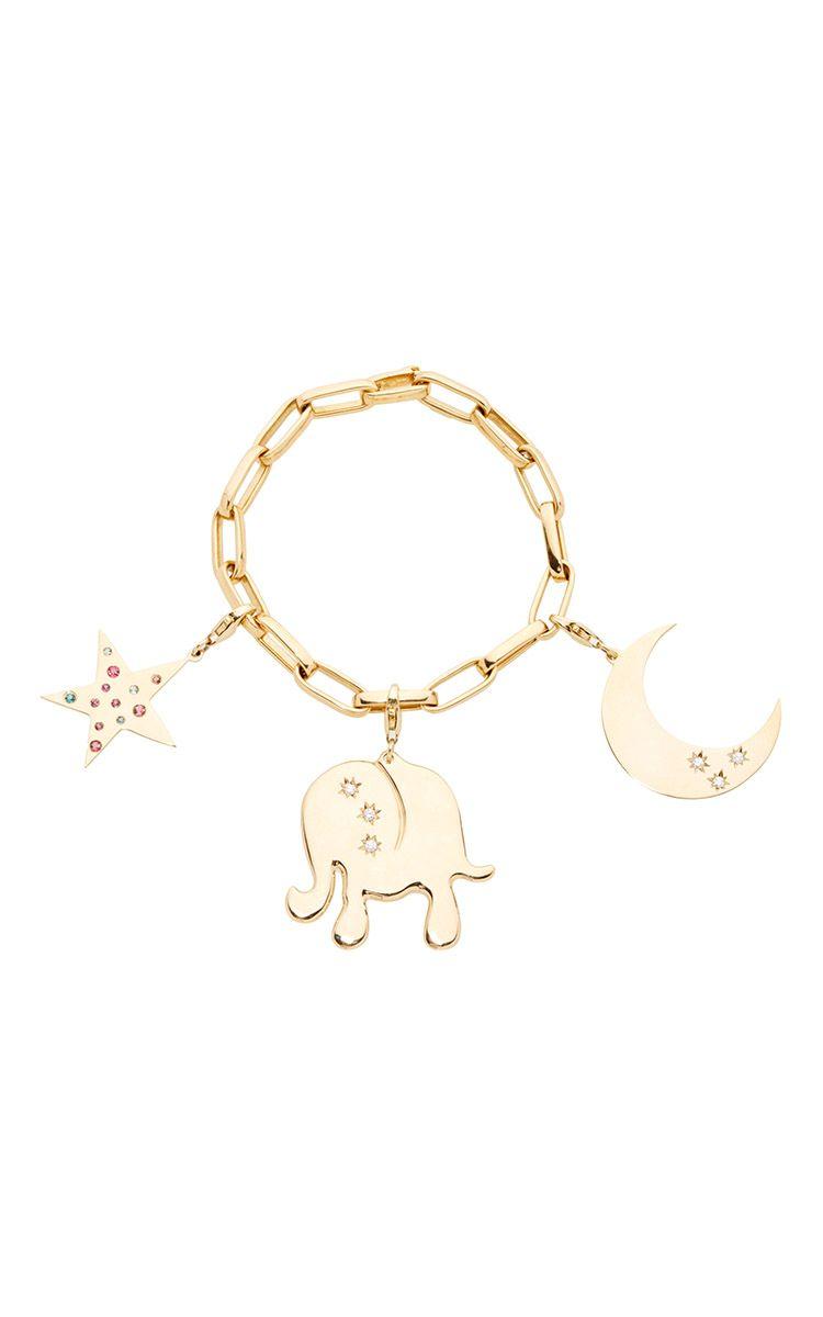 Loquet London hope charm bracelet fY6EX