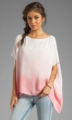 sen Milania Top in Salmon Dip Dye from REVOLVEclothing.com