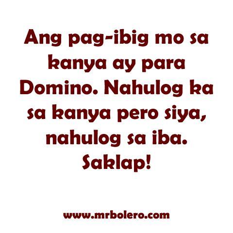 Mga Patama sa mga Nagmamahal the Best Tagalog love quotes