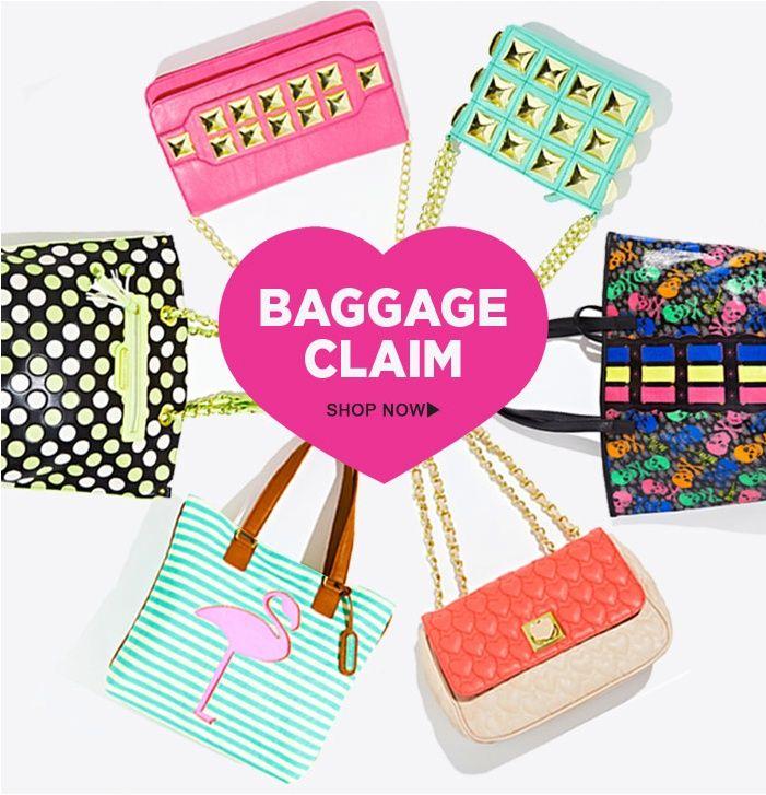 freeman grab bag | Grab ya bags, dolls! Betsy Johnson