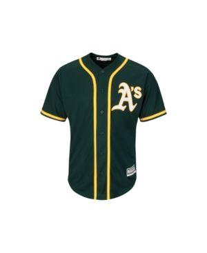 new arrival b38c3 67517 Majestic Men's Oakland Athletics Replica Jersey - Green M ...