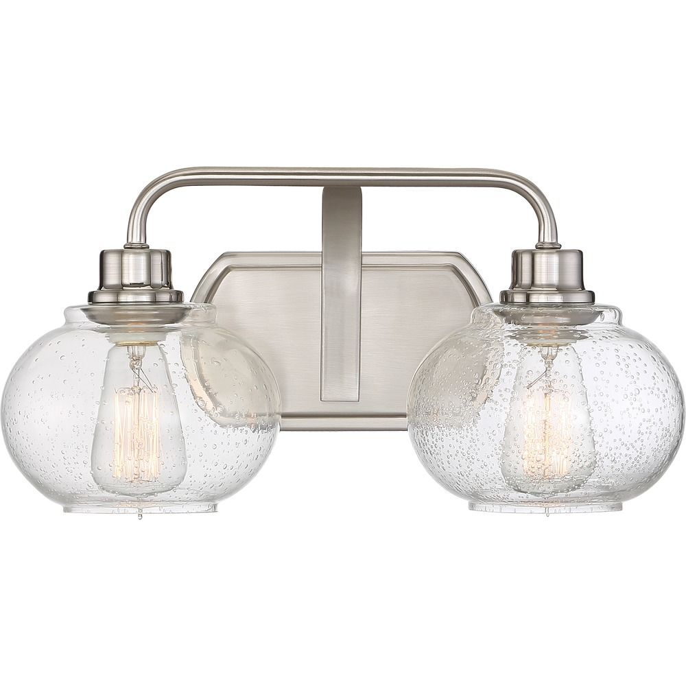 minka bathroom brushed lavery edison lights pin light downtown nickel bath