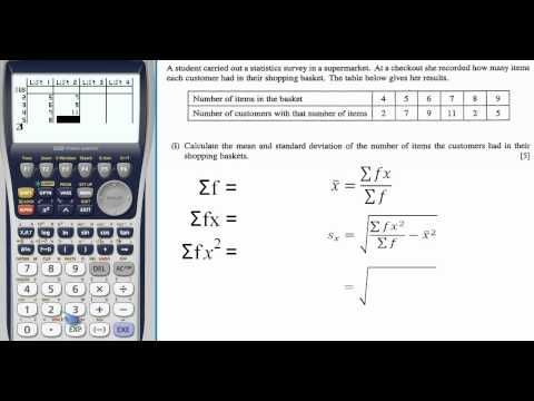 How to use a casio graphical calculator to find standard deviation how to use a casio graphical calculator to find standard deviation ccuart Image collections