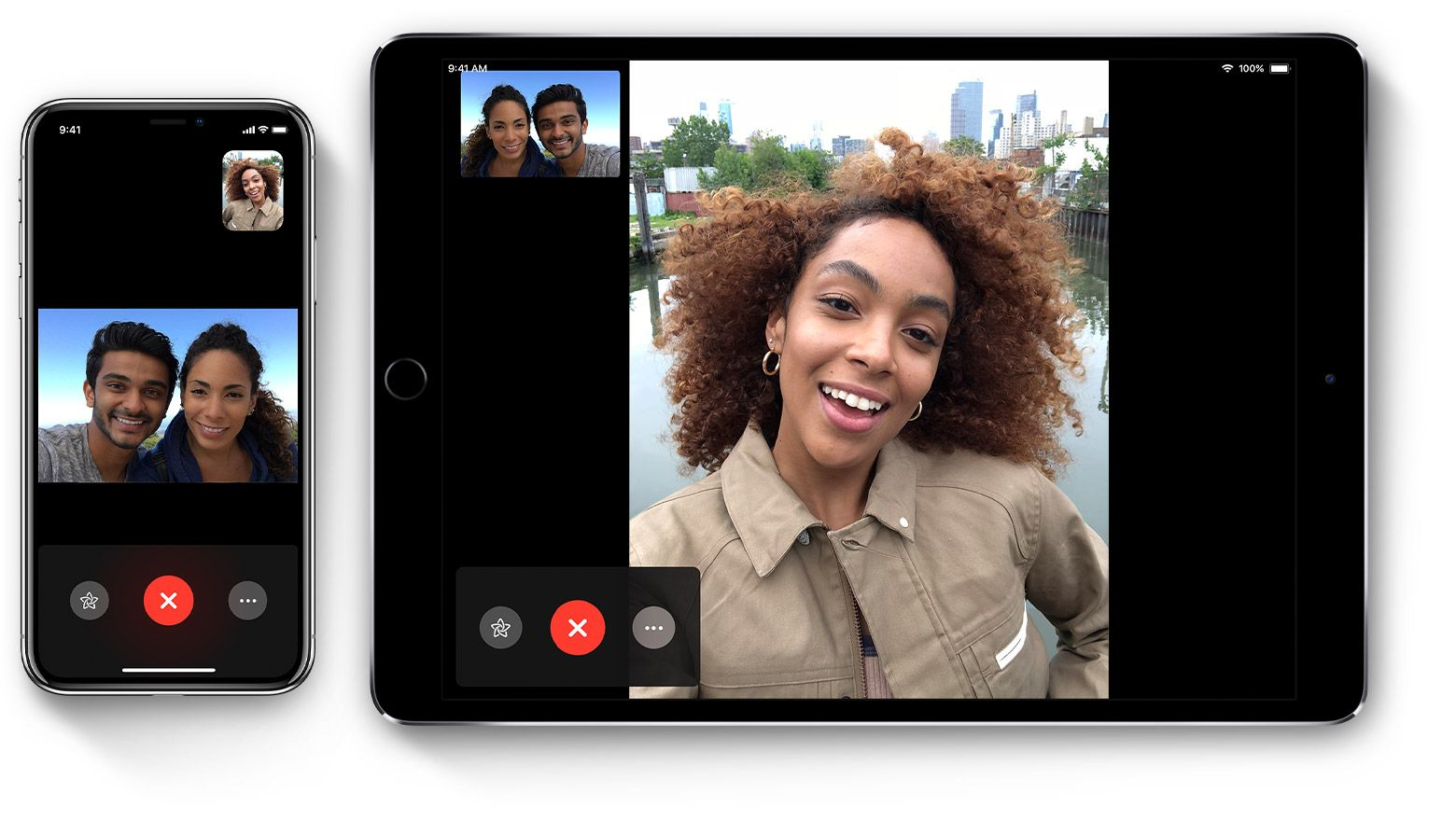 Use FaceTime with your iPhone, iPad, or iPod touch Group