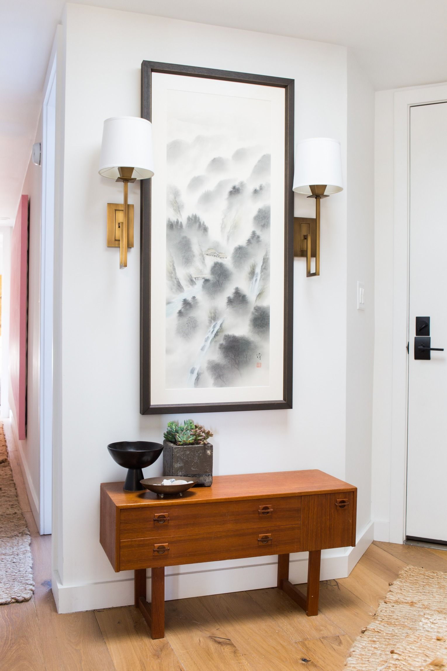 Wohndesign interieur schlafzimmer before and after  orlando soriaus socal home tour  home  pinterest