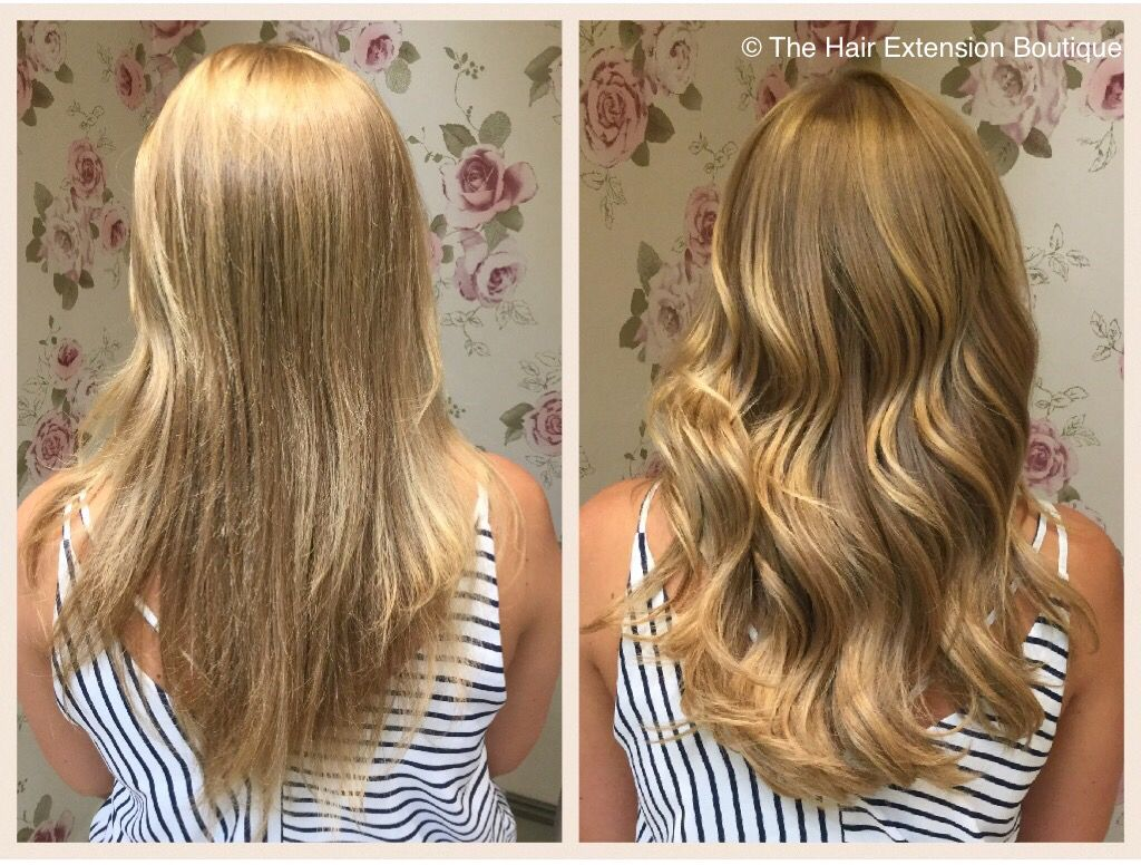 Look How Beautiful This Before And After Is On The Stunning Sophie She Had A Head Of 14 Inch European Hair To Add Volume Her Locks