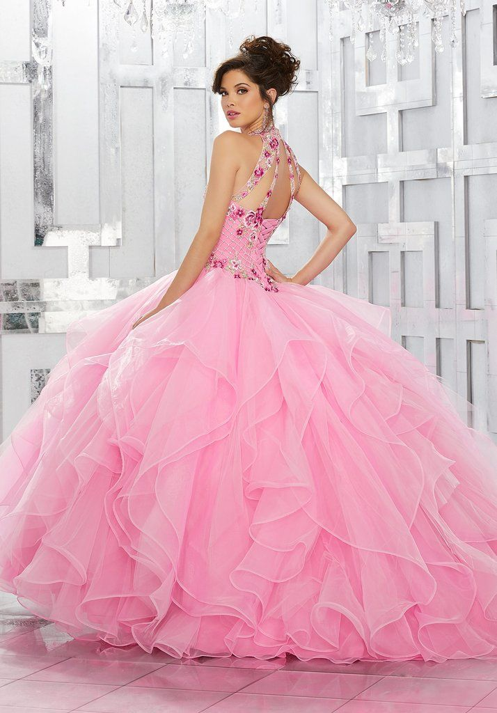 Floral Embroidered Quinceanera Dress by Mori Lee Vizcaya 89149 ...