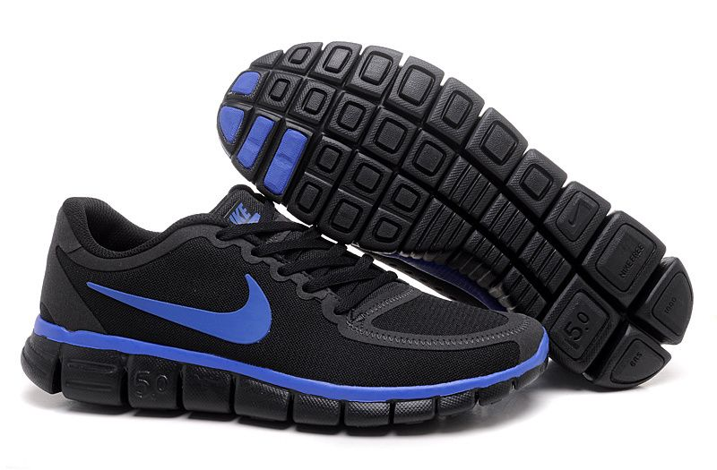 Nike Free Running Mens Shoes Black And Red