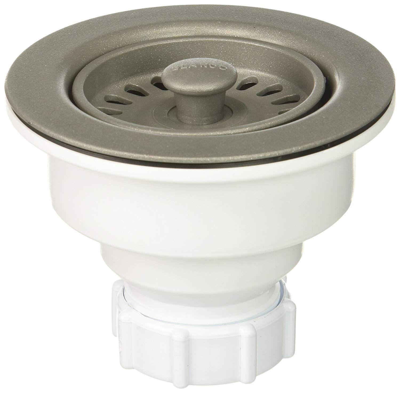 Blanco 442228 3 1 2 Decorative Drain Basket Strainer Metallic