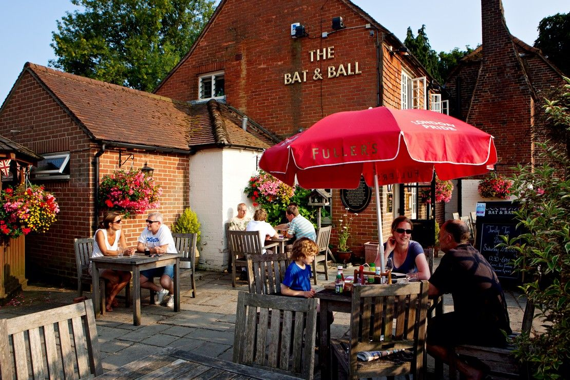 The Bat Ball Home Pubs And Restaurants Restaurant Fullers Pubs