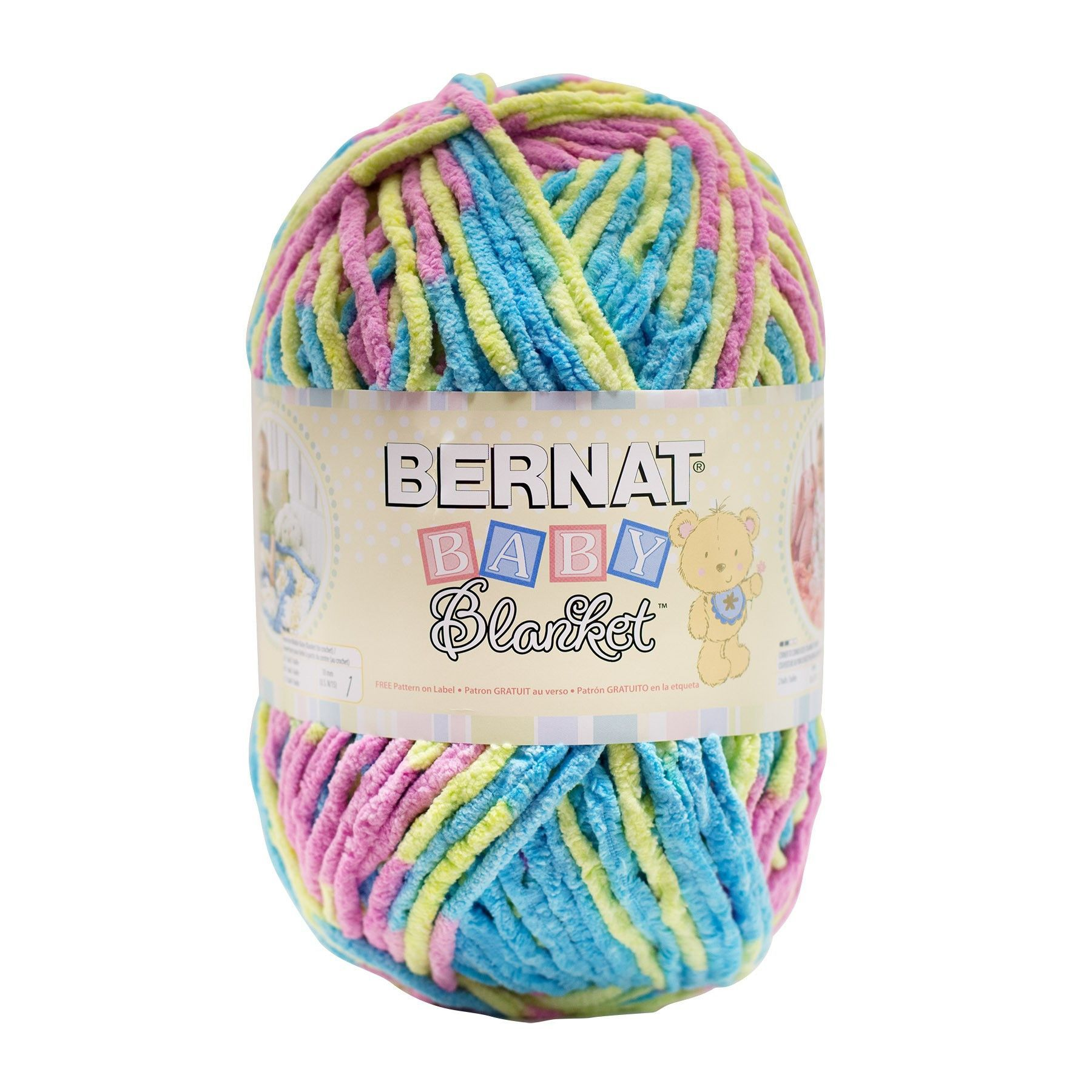 Bernat Baby Blanket Yarn Jelly Bean 300 Gram Skeins