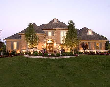Plan 39201st Luxury European House Plan Luxury House Plans Craftsman Style House Plans European House