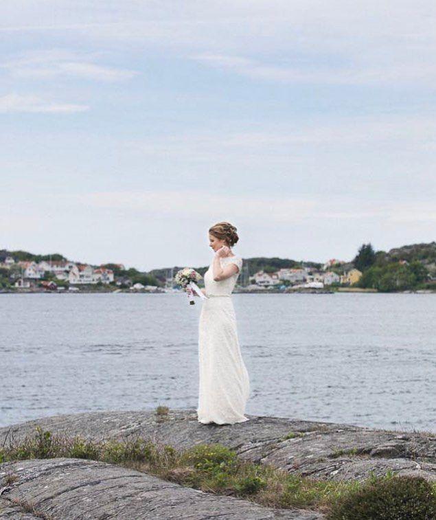 Ett fantastiskt sommarminne från ett junibröllop i Göteborgs Skärgård. Tack Elinor & Anton.