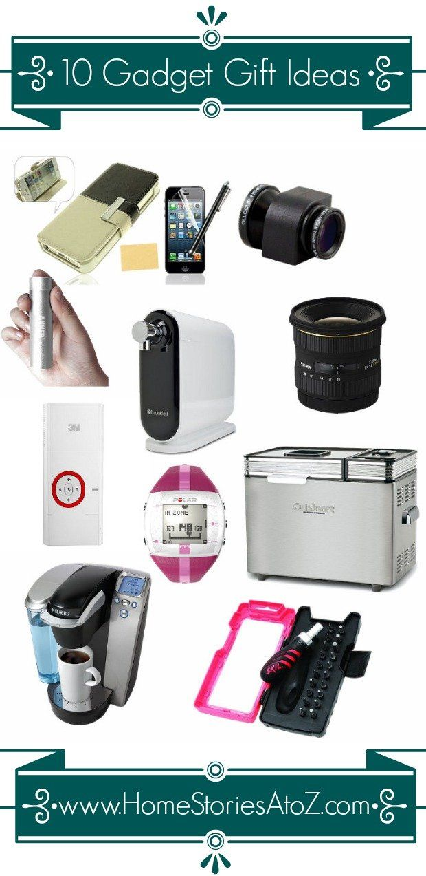 Tried and true items that I love. 10 Gadget Gift Ideas.