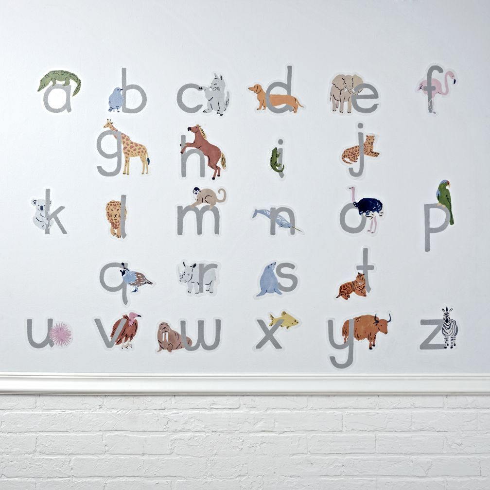 ABC Animals Decal Animal Wall Decals Wall Decals And Walls - Wall decals animalsanimal wall decal animals wall art stickers animal wall