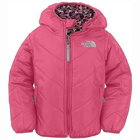 25785b4ec9a2 The North Face Toddler Girls  Reversible Perrito Jacket Cha Cha Pink ...