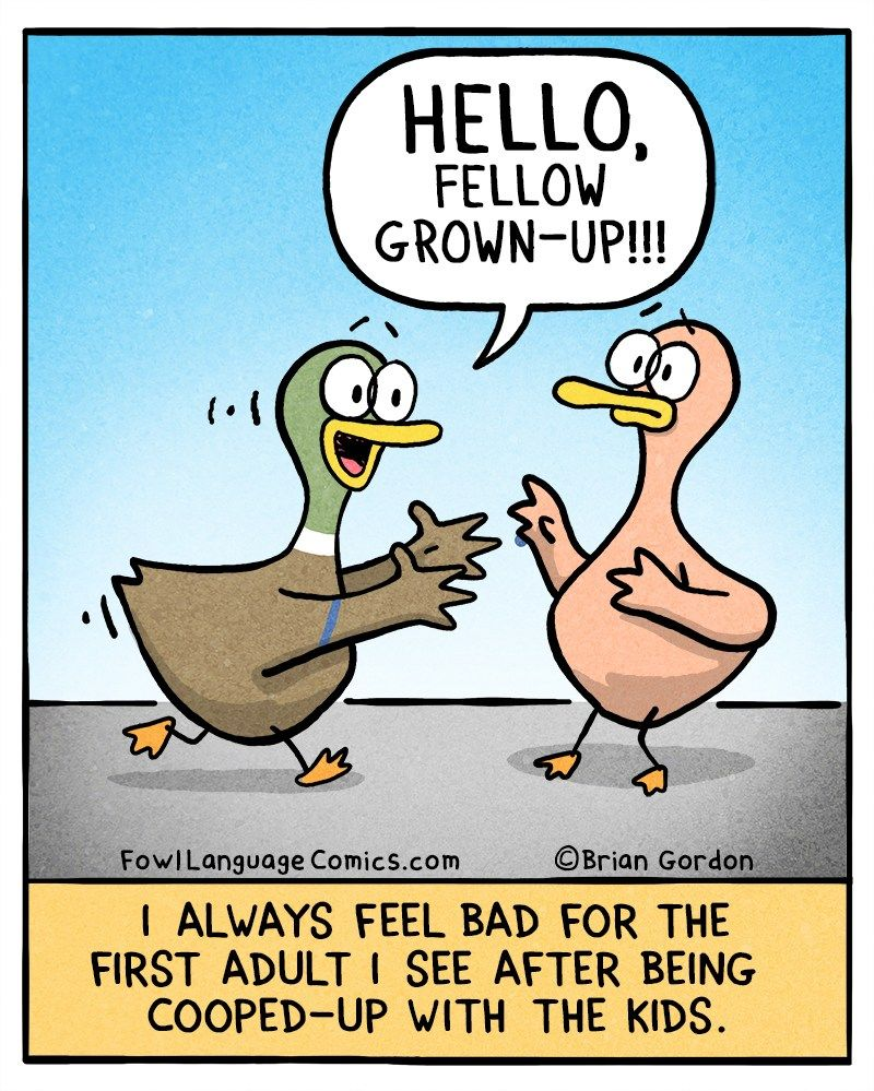 First Grown Up Fowl Language Comics Funny Pictures For Kids Fun Quotes Funny Funny Cartoons