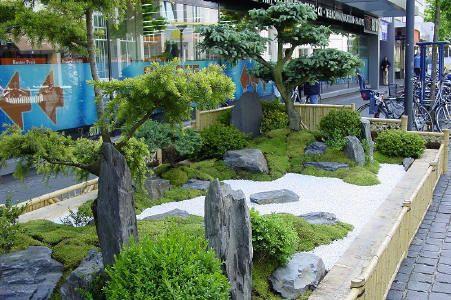 der kleine japangarten japanische g rten pinterest garten garten ideen und steingarten. Black Bedroom Furniture Sets. Home Design Ideas