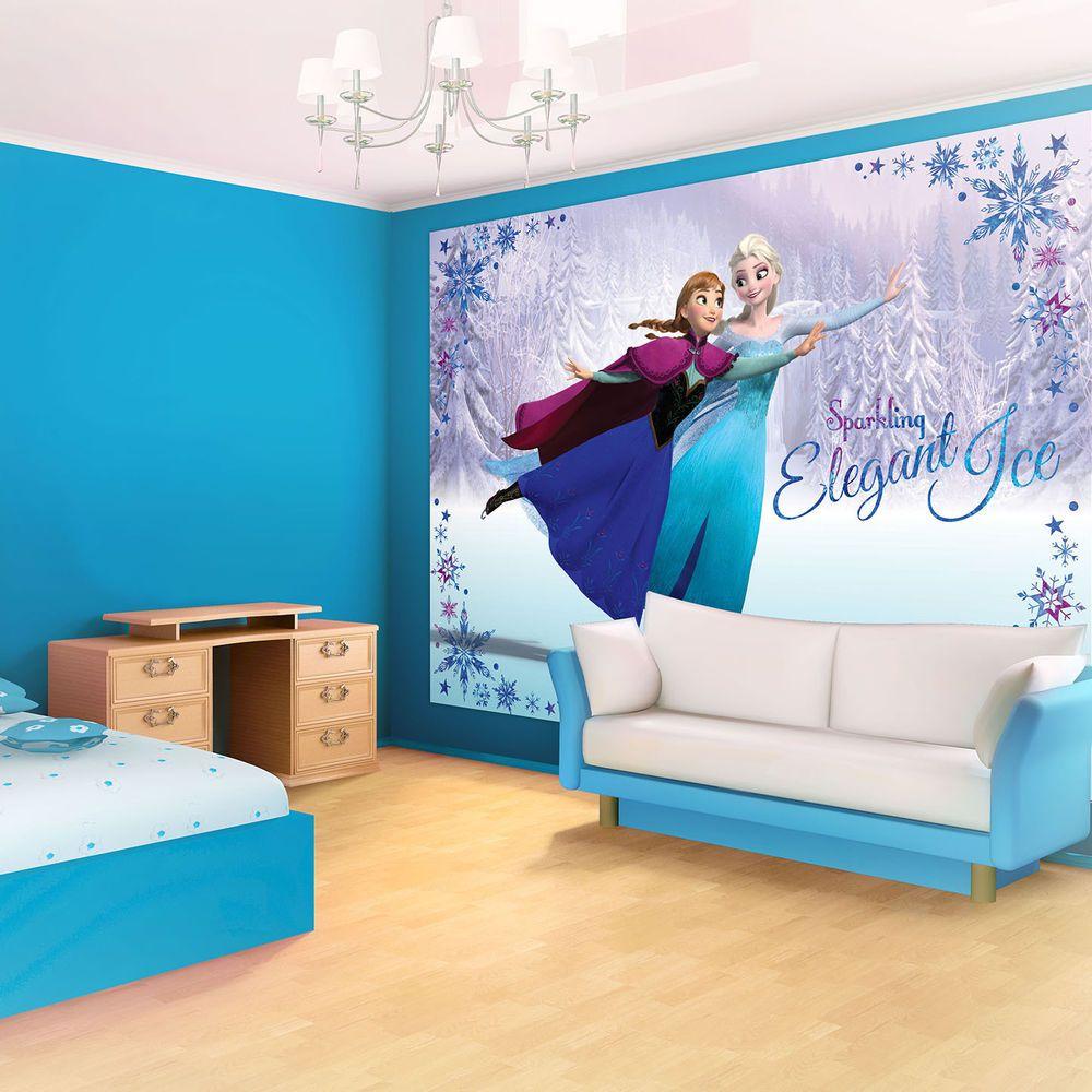 Vlies Fototapete Fototapeten Tapete Tapeten Frozen Disney Anna Elsa Olaf 1634 Ve Kinderzimmer Streichen Kleinkind Spielzimmer Tapeten