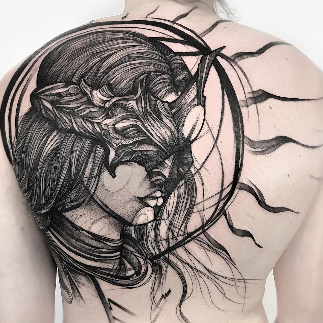 Cool tattoo designs for back tattoo tattooed tattoos ink inked тату татуировка cooltattoo