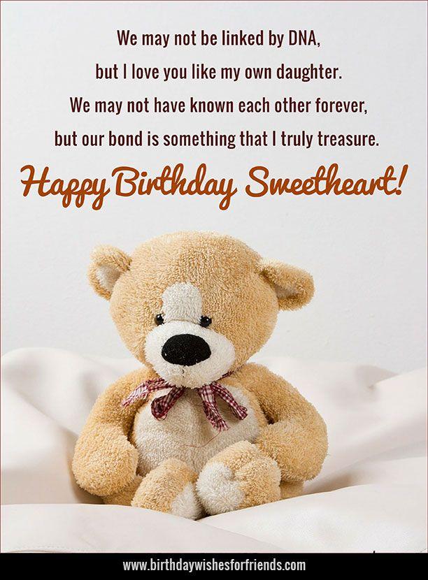 Happy Birthday Step Daughter Jpg 612 830 Birthday Quotes For Daughter Birthday Quotes Kids Son Birthday Quotes