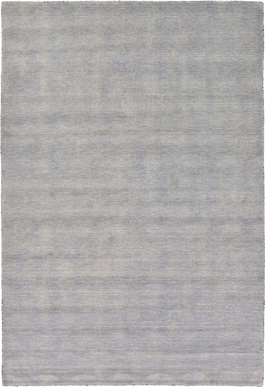Modern Plush Hand Knotted Wool 7 Feet