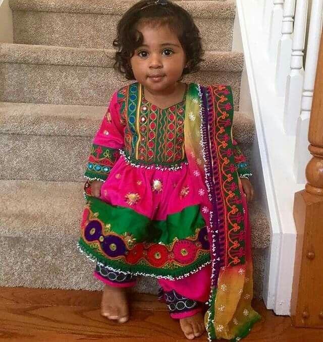 In a sari