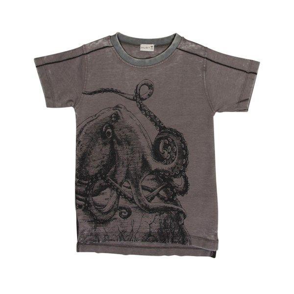 Lækker T-shirt med print fra Hust & Claire