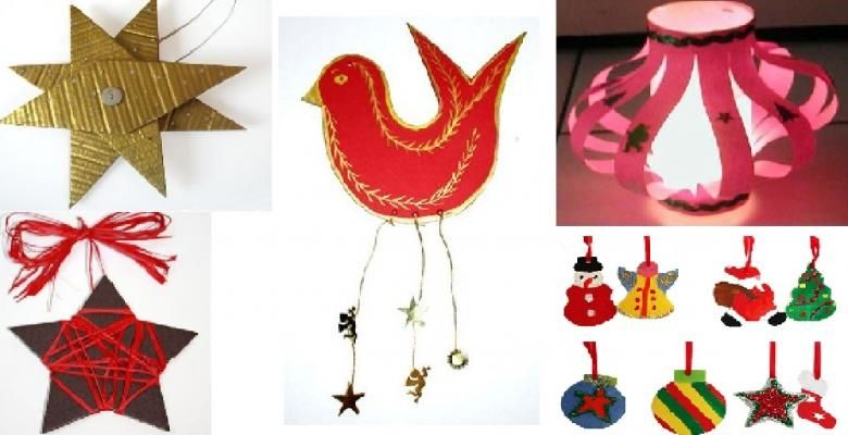 It will be a hit!  5 Christmas crafts for toddlers with …
