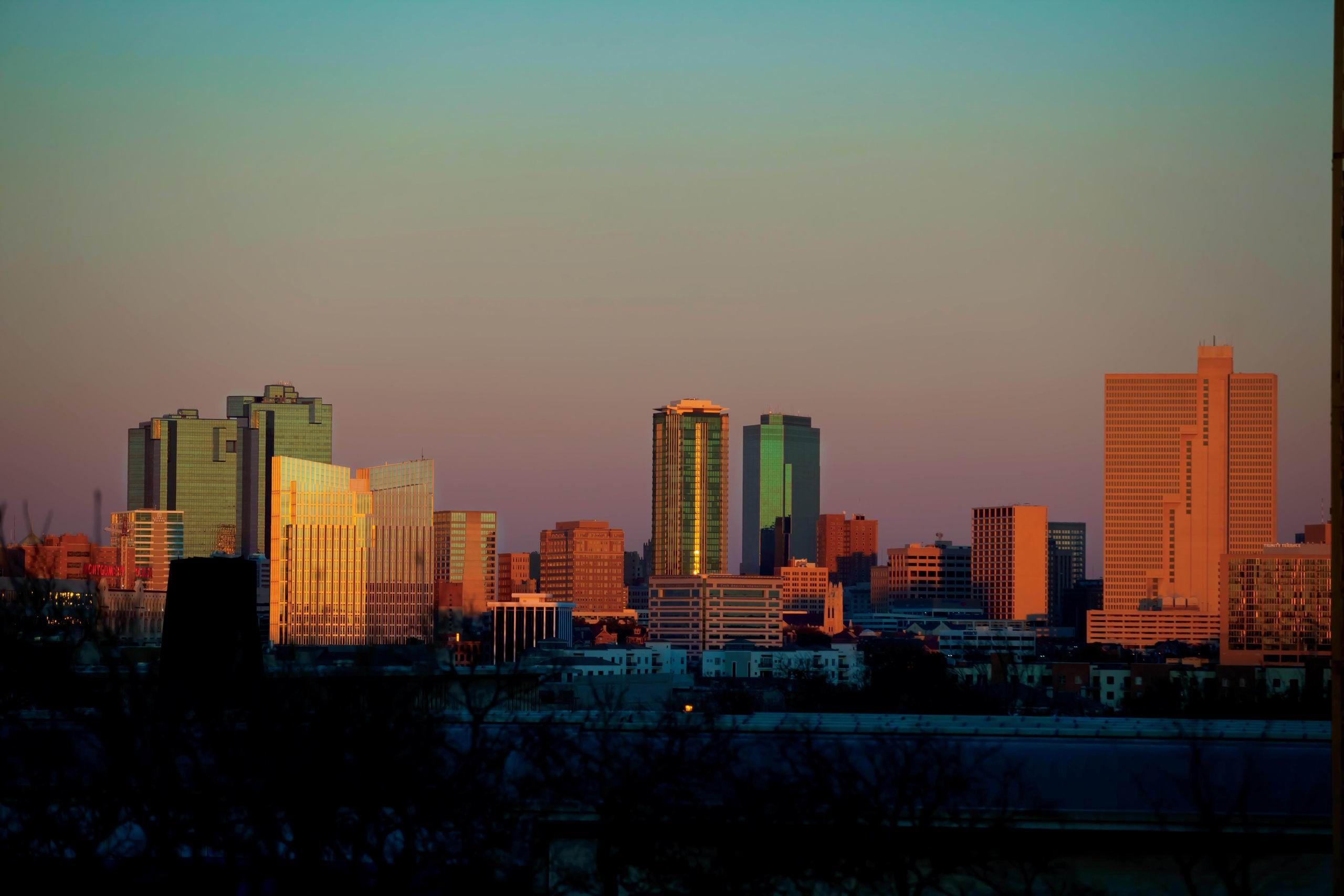 Fort Worth skyline | Skylines | Pinterest | Fort worth ...
