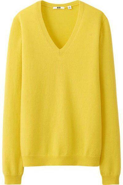 V- neck sweater