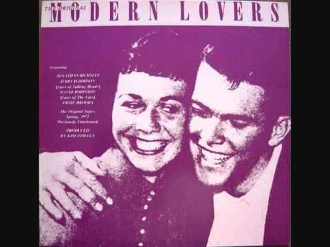 The Modern Lovers A2 She Cracked The Modern Lovers Album Cover Art Band On The Run