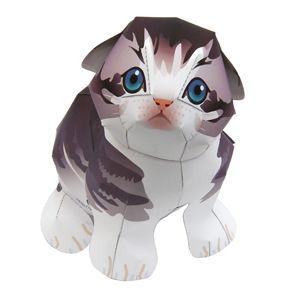 Scottish Fold - Pet Series - Animals - Paper Craft - Canon