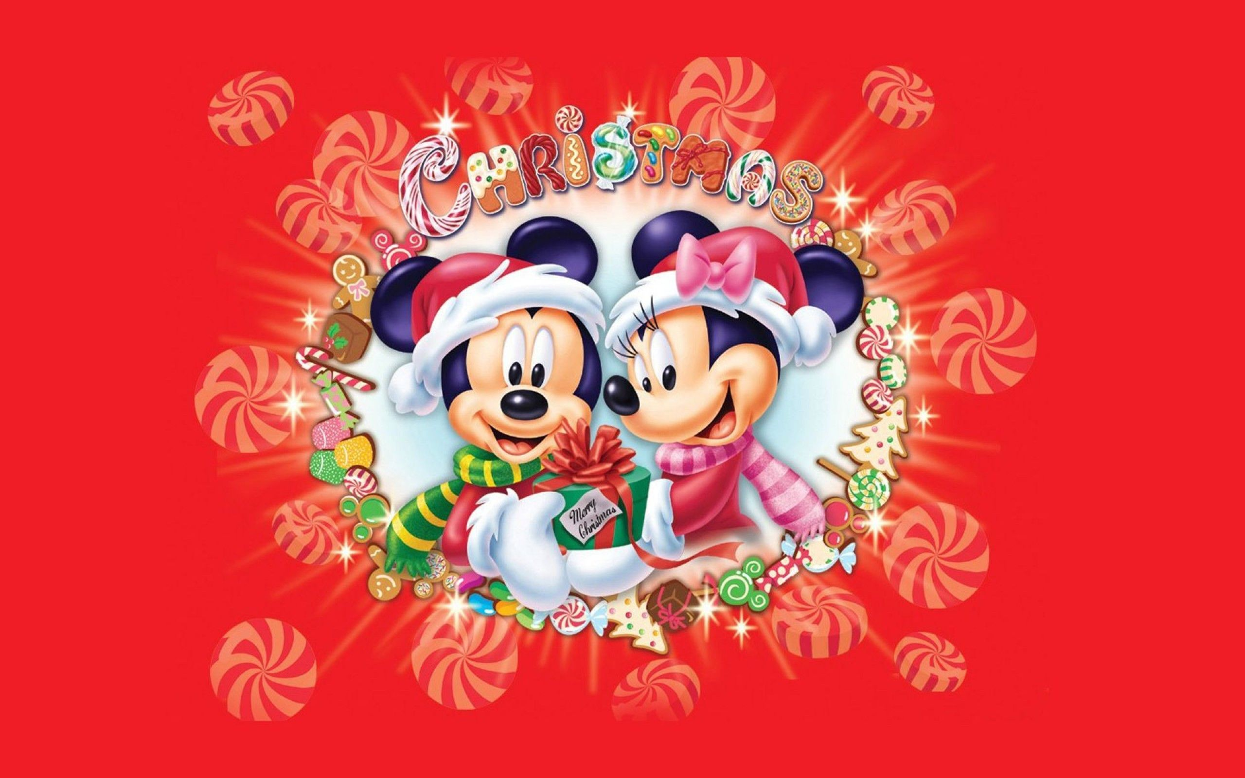 xmas stuff for > mickey mouse christmas wallpaper | mickey mouse