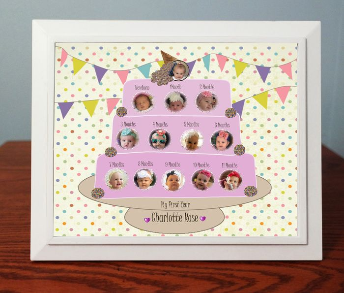 Absolute Inspirations - Babys First Year Birthday Cake ...