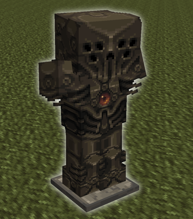Une Idee De Design Pour La Nouvelle Armure En Netherite Votre Avis Minecraft Art Minecraft Armor