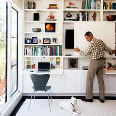 Sunset Concealed Flat Screen TV | Remodelista living room joinery tv ...