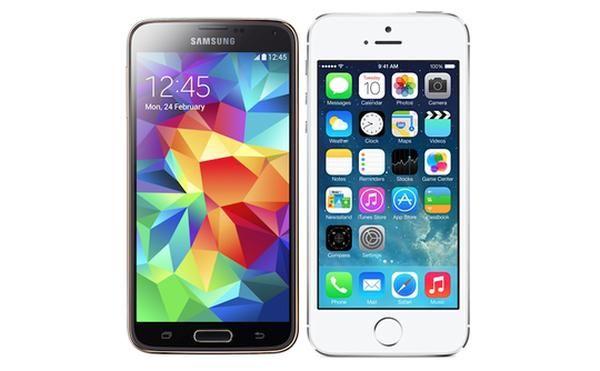 Samsung Galaxy S5 vs iPhone 5S video picks a winner