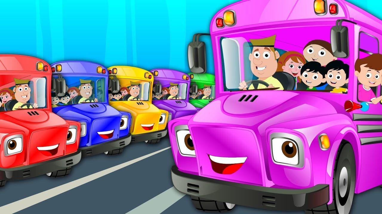 The Wheels On The Bus | Nursery Rhymes | Kids Songs #kidstv #rhymes  #wheelsonthebus #songsfortoddlers #nurseryvideos | Kids songs, Kids tv,  Rhymes video