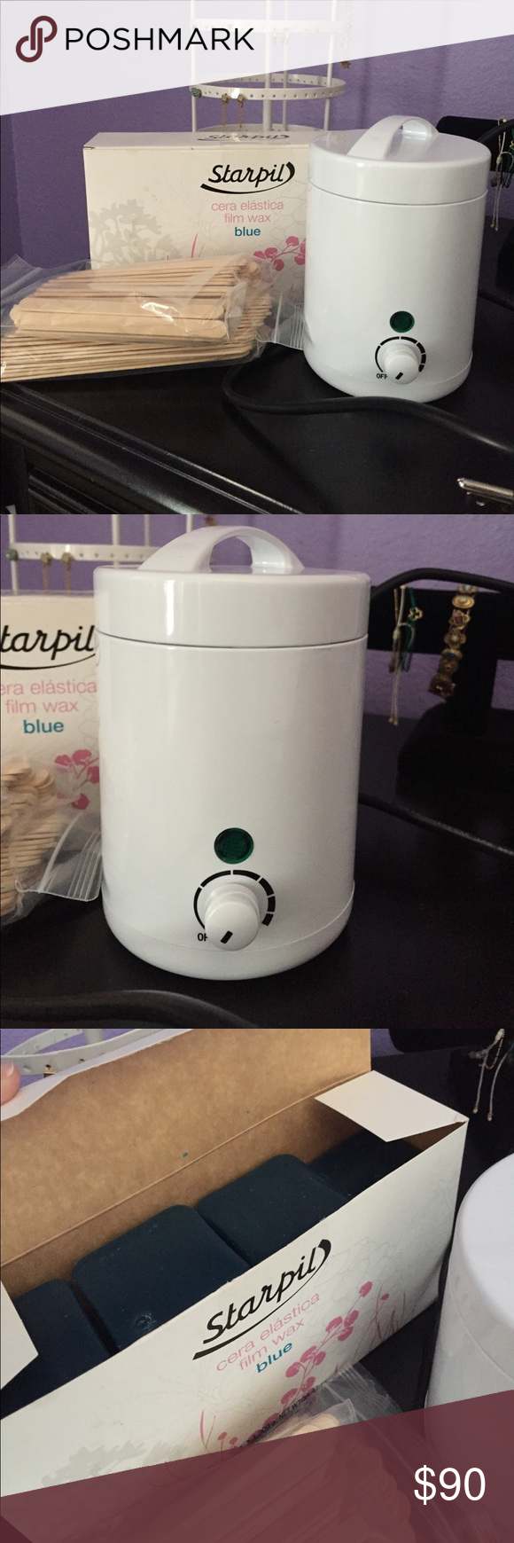 Starpil Wax Kit Offers Open Trying To Get Rid Of If Purchased Everything Shown Above Will Come W It 2 Packets Waxing Kit Wax Tablet Makeup Tools Brushes