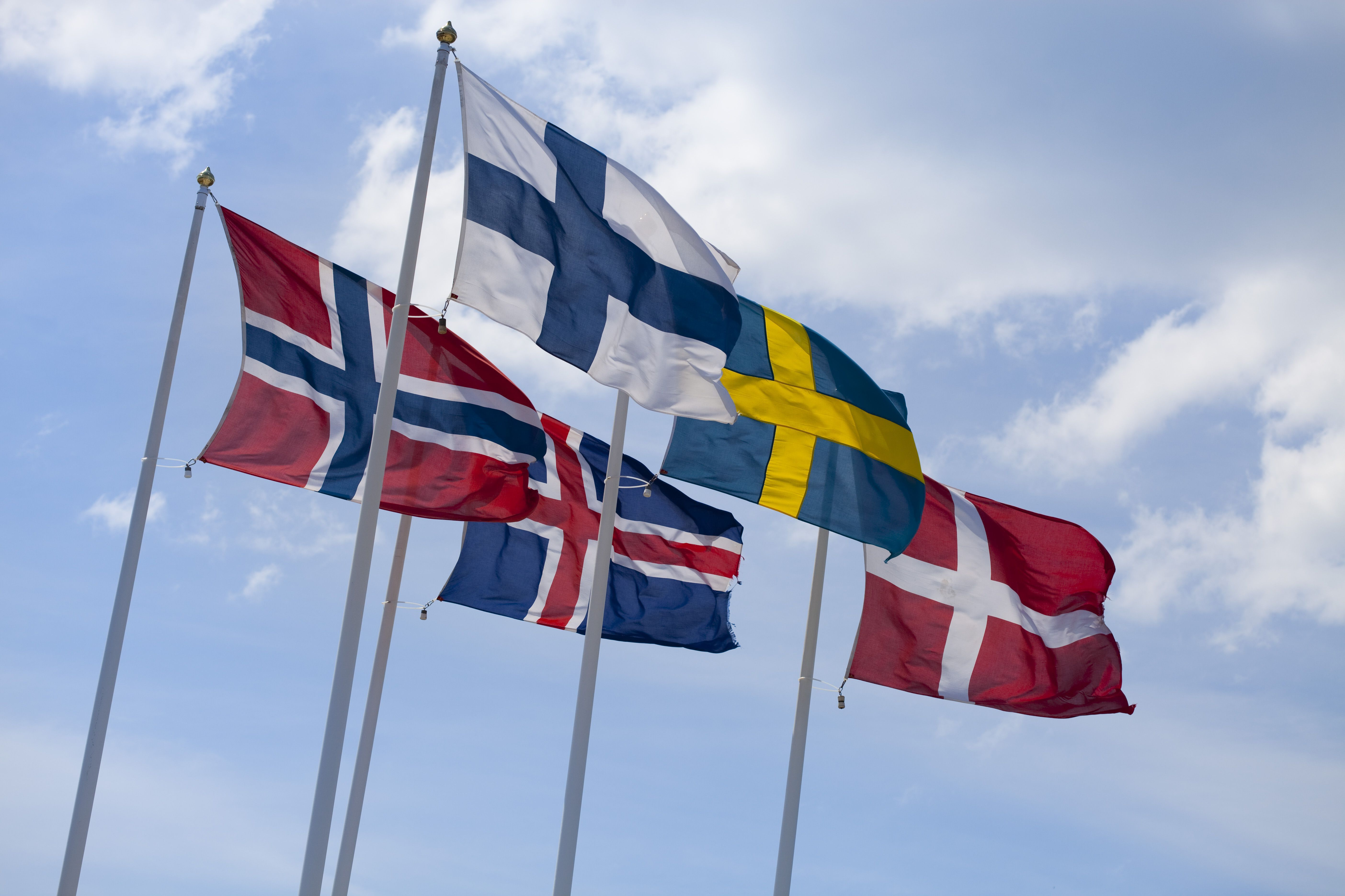 Learn To Recognize The Scandinavian Flags In 2020 Scandinavian History Scandinavia Scandinavian Countries