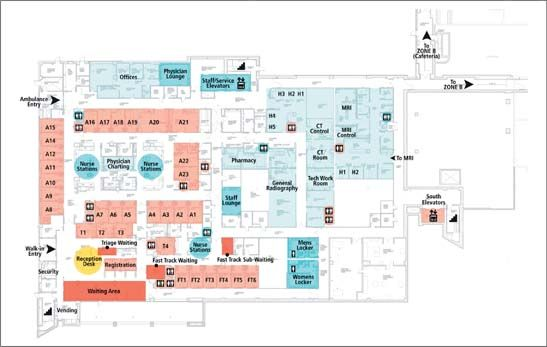 Diary Of An Opening Hospital Floor Plan Emergency Hospital