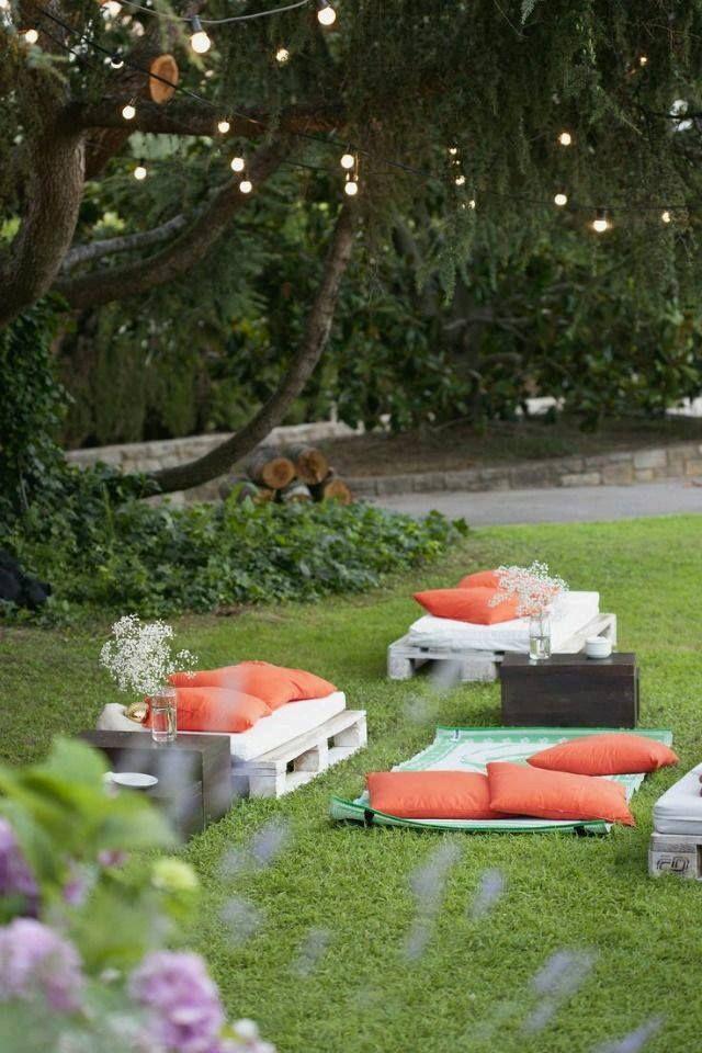 Ideas de decoración para una boda en el jardín Bodas and Wedding