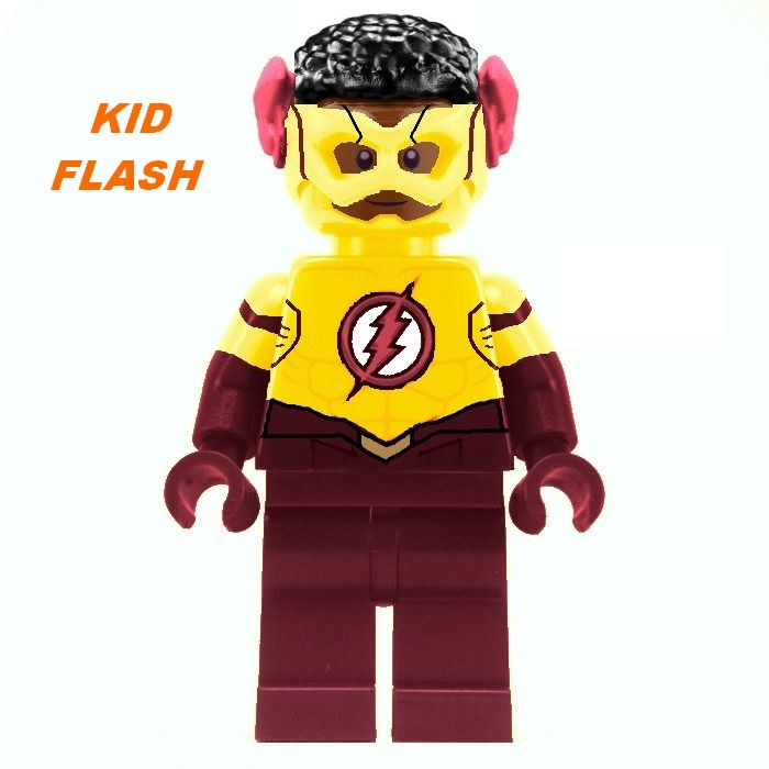 **NEW** LEGO Custom Printed DC Universe Super Hero Minifigure FIRESTORM