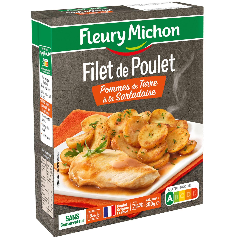 Plat Cuisine Filet De Poulet Pommes De Terre Fleury Michon Plats